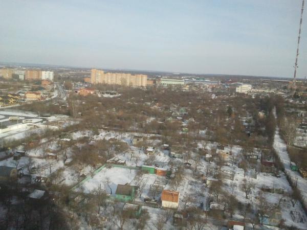 Вид на Тулу с 22 этажа